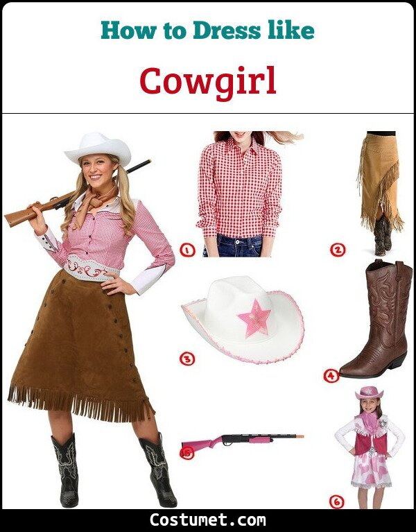 Cowgirl Cosplay & Costume Guide