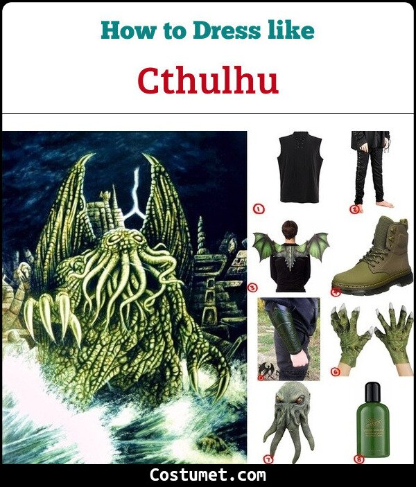 Cthulhu Costume for Cosplay & Halloween