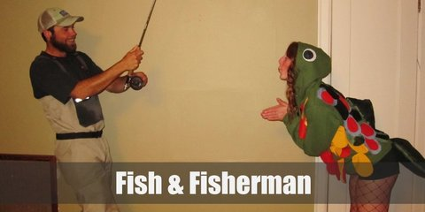 Fish/Mermaid and Fisherman