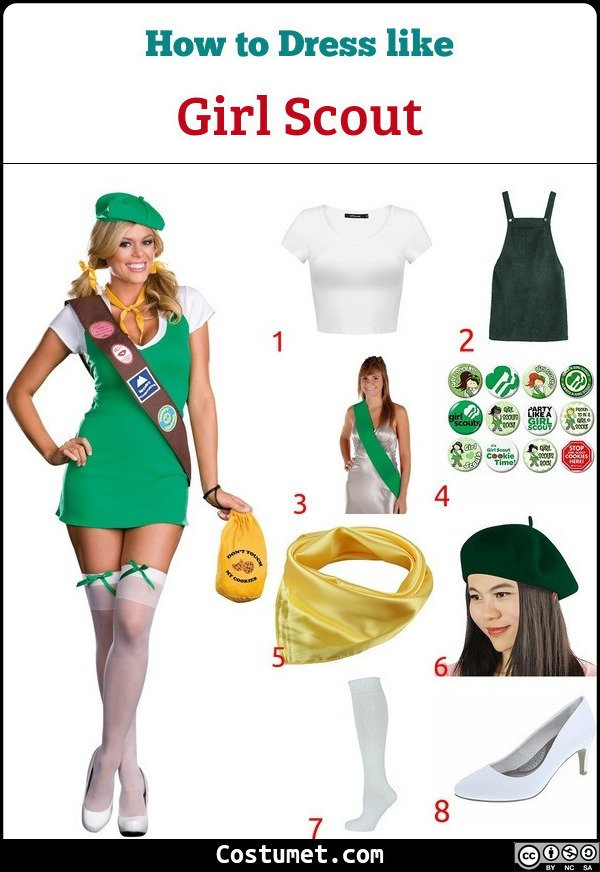 Girl Scouts Costume for Cosplay & Halloween