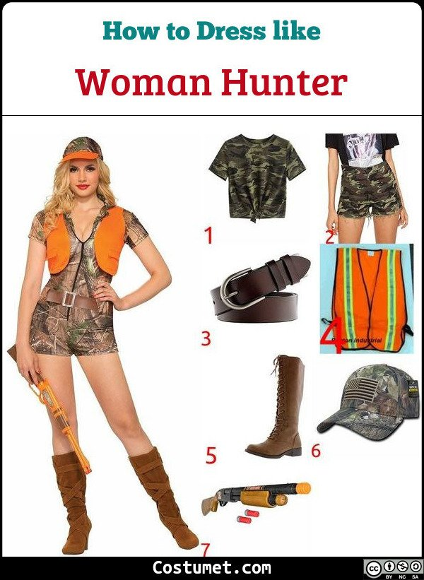 Woman Hunter Costume for Cosplay & Halloween