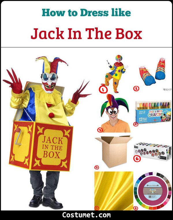 Jack In The Box Costume for Cosplay & Halloween