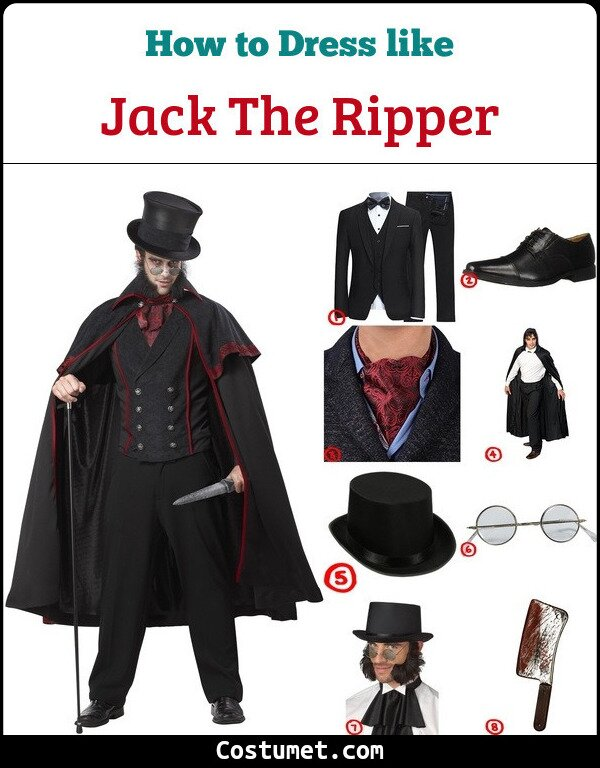 Jack The Ripper Costume for Cosplay & Halloween