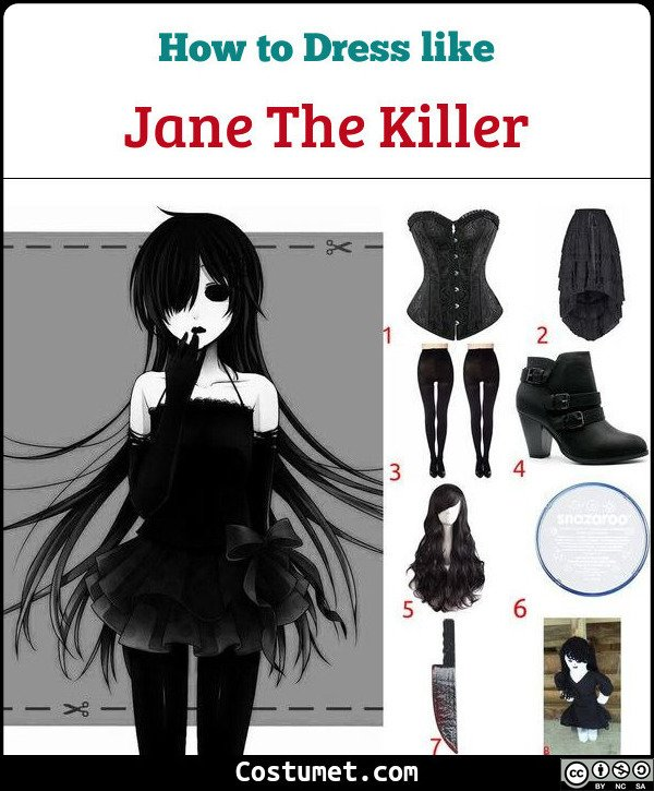Jane The Killer Costume for Cosplay & Halloween