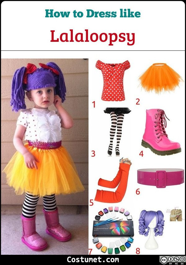 Lalaloopsy Costume for Cosplay & Halloween