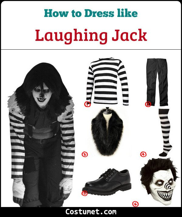 Laughing Jack Costume for Cosplay & Halloween