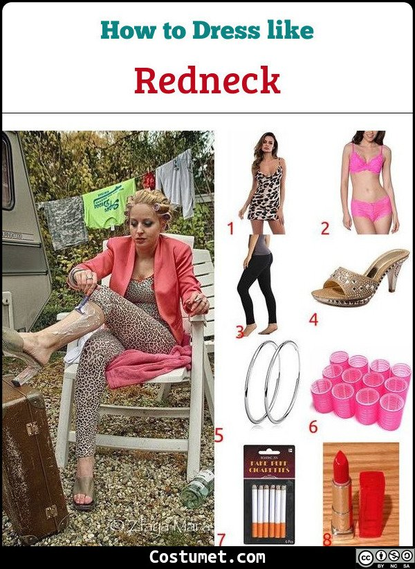 Female Redneck Costume for Cosplay & Halloween