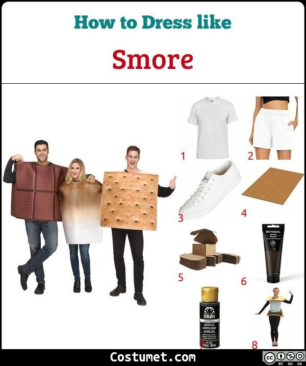 Smore Costume for Cosplay & Halloween