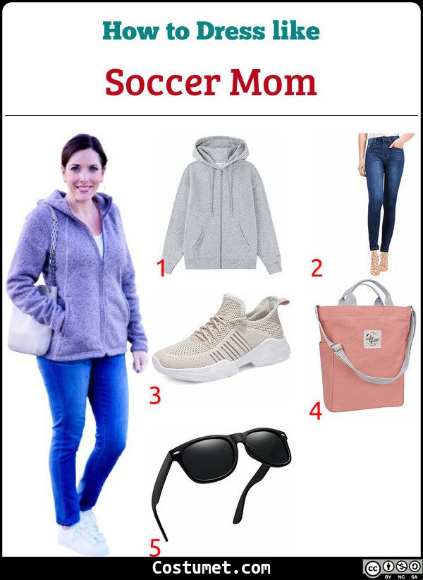 Soccer Mom Costume for Cosplay & Halloween