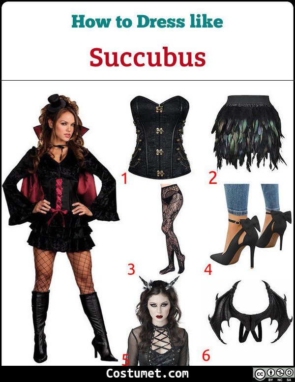 Succubus Costume for Cosplay & Halloween