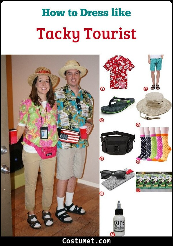 Tacky Tourist Cosplay & Costume Guide