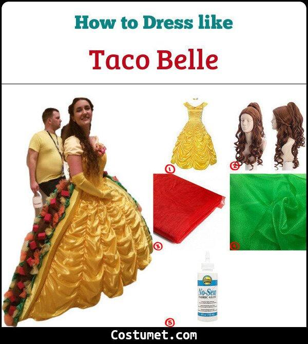 Taco Belle Costume for Cosplay & Halloween