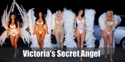 Aside from their marvelous wings, each Victoria's Secret Angel usually wears different outfits in a single fashion show. But they are singularly known to wear a hot pink silk robe during break times. With your own robe and pair of wings, you can also be a super hot Angel.