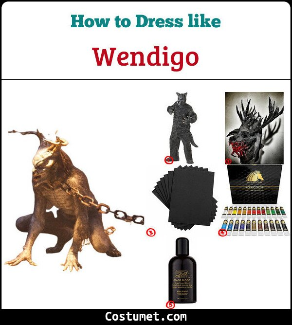 Wendigo Costume for Cosplay & Halloween