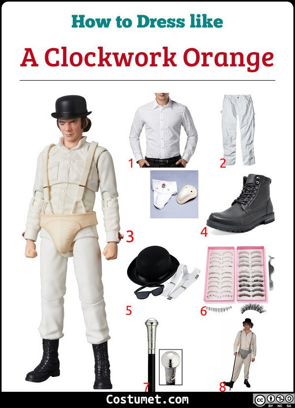 A Clockwork Orange Costume for Cosplay & Halloween
