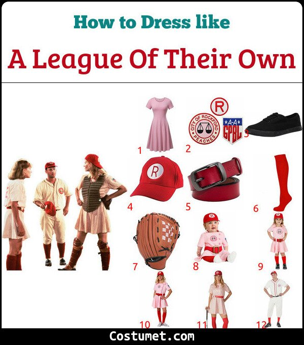 A League Of Their Own Costume for Cosplay & Halloween