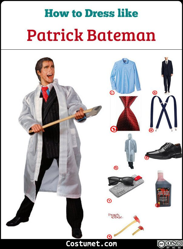 Patrick Bateman Cosplay & Costume Guide