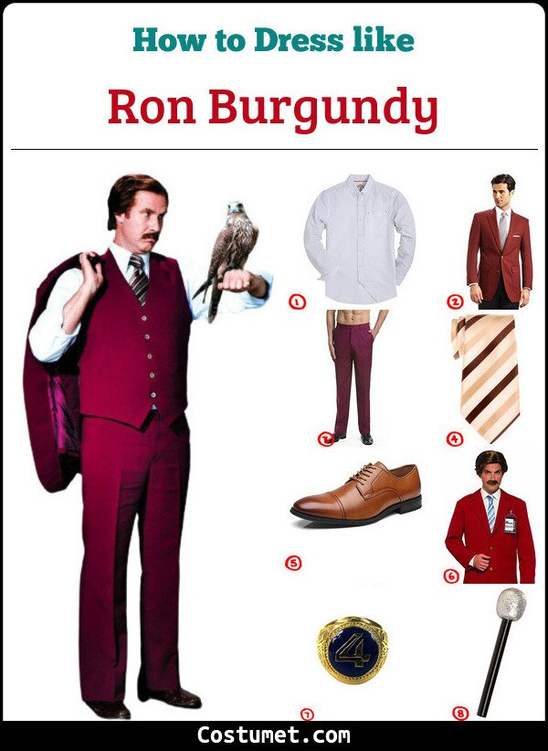 Ron Burgundy Cosplay & Costume Guide
