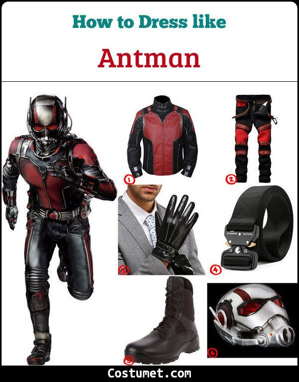 Antman Cosplay & Costume Guide