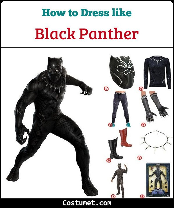 Black Panther Cosplay & Costume Guide