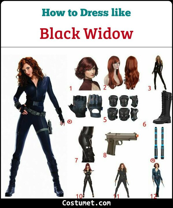 Black Widow Cosplay & Costume Guide