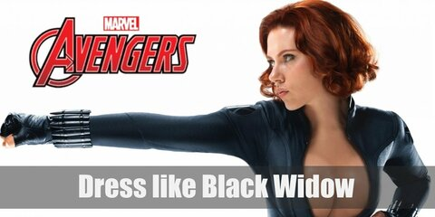 Dress like Black Widow (Natasha Romanoff) Costume