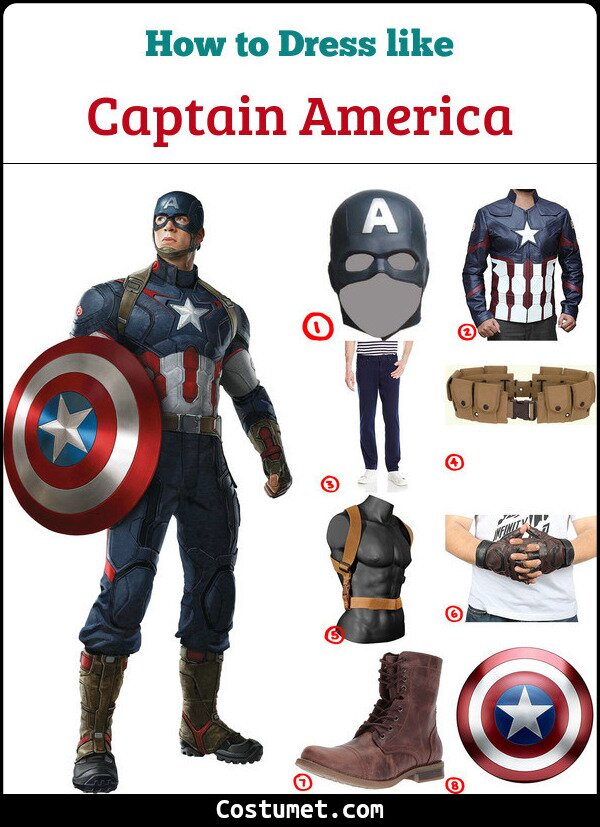 Captain America Cosplay & Costume Guide