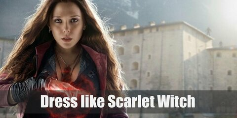 Scarlet Witch has had different costumes since her debut. Going away from her classic outfit in the comics, Scarlet Witch wears more contemporary clothes in the film adaptation. Although she still loves the color red.