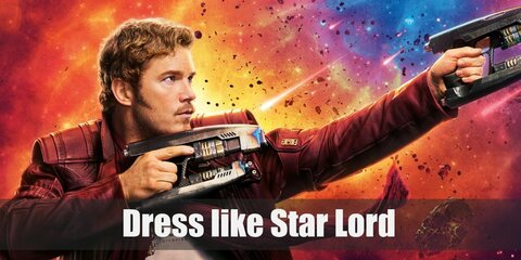 Dress like Peter Quill aka Star Lord Costume