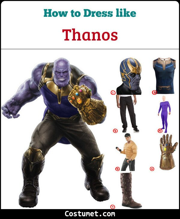 Thanos Cosplay & Costume Guide