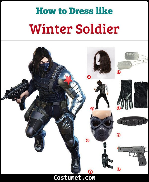 Winter Soldier Cosplay & Costume Guide