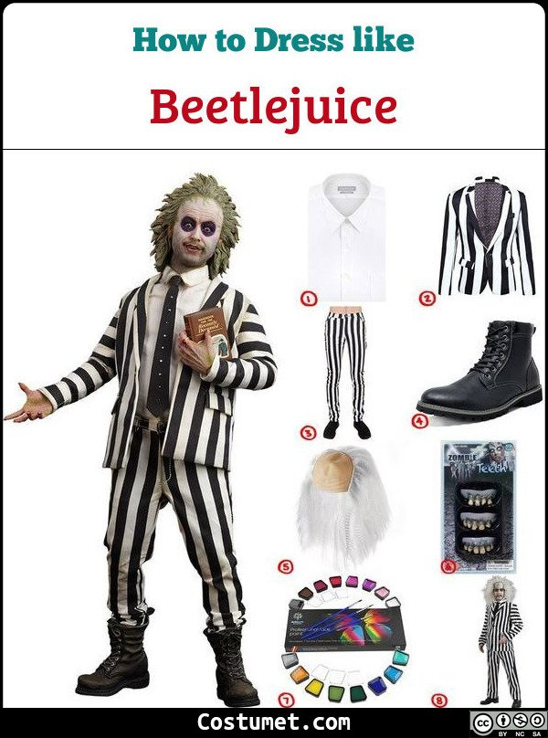 Beetlejuice Cosplay & Costume Guide