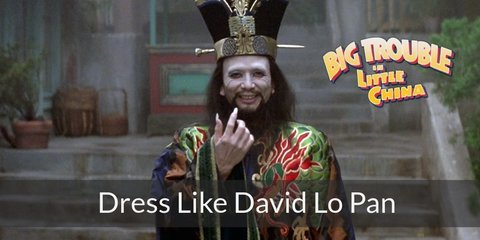 David Lo Pan (Big Trouble in Little China) Costume