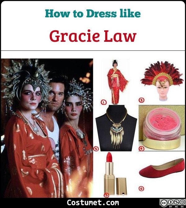 Gracie Law Costume for Cosplay & Halloween