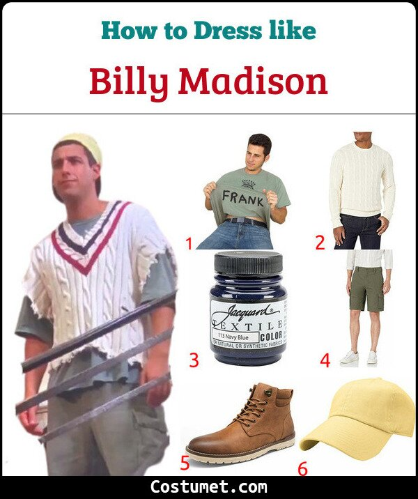 Billy Madison Costume for Cosplay & Halloween
