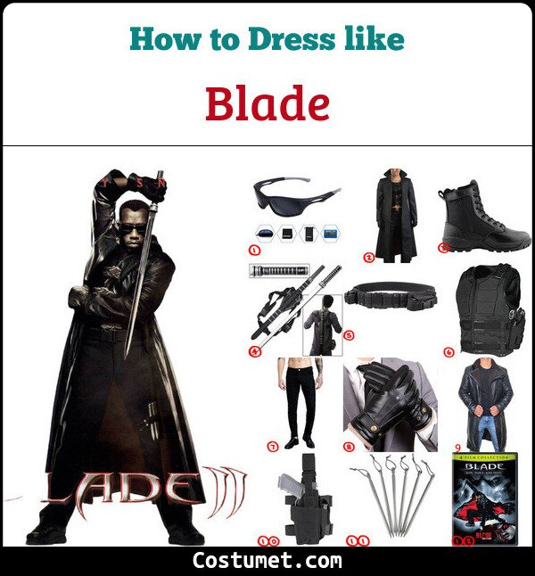 Blade Cosplay & Costume Guide