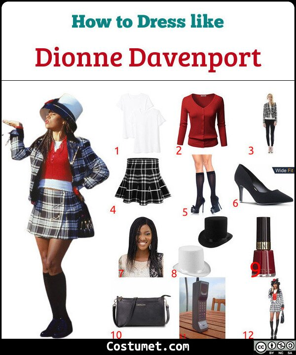 Dionne Davenport Costume for Cosplay & Halloween