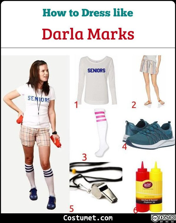 Darla Marks (Dazed And Confused) Costume for Cosplay & Halloween