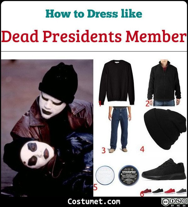 Dead Presidents Costume for Cosplay & Halloween