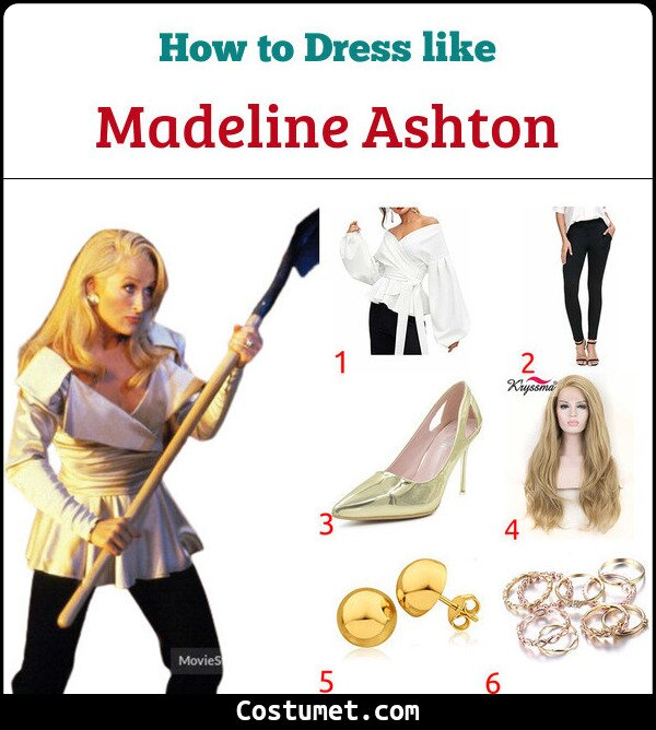 Death Becomes Her Costume for Cosplay & Halloween