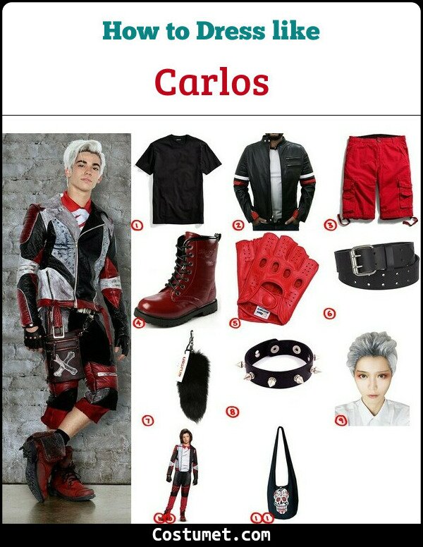 Carlos Costume for Cosplay & Halloween