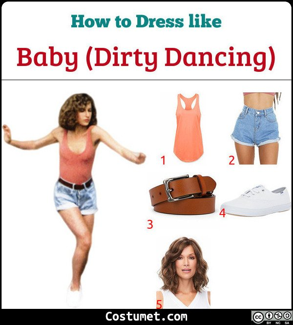 Dirty Dancing Costume for Cosplay & Halloween