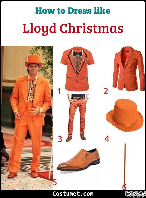 Lloyd Christmas (Dumb And Dumber) Costume for Cosplay & Halloween