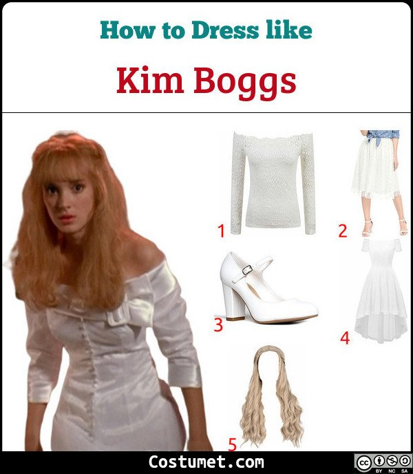 Kim Boggs Costume for Cosplay & Halloween