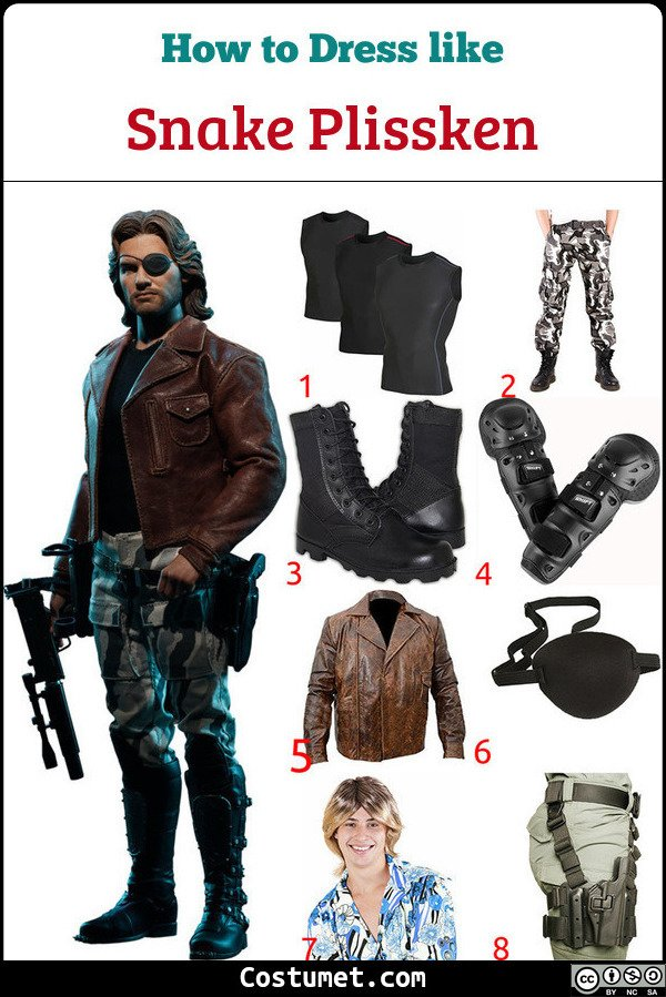 Escape From New York Costume for Cosplay & Halloween
