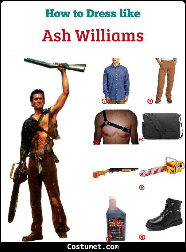 Ash Williams Cosplay & Costume Guide