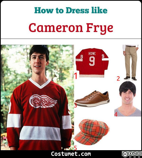 Cameron Frye Costume for Cosplay & Halloween