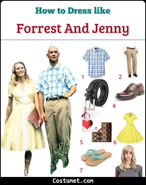 Forrest And Jenny Costume for Cosplay & Halloween