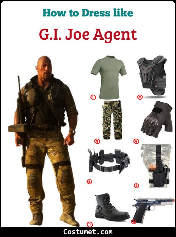 Gi Joe Costume for Cosplay & Halloween