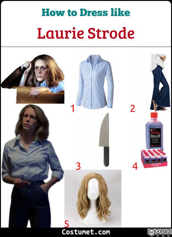 Laurie Strode Costume for Cosplay & Halloween